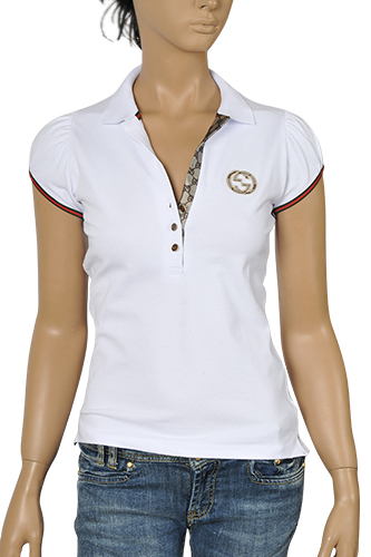Womens Designer Clothes | GUCCI Ladies Short Sleeve Top #275