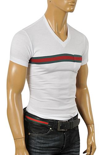 Mens Designer Clothes | GUCCI Men's Short Sleeve Tee #177