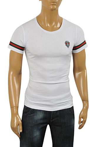 Mens Designer Clothes | GUCCI Men's Short Sleeve Tee #187