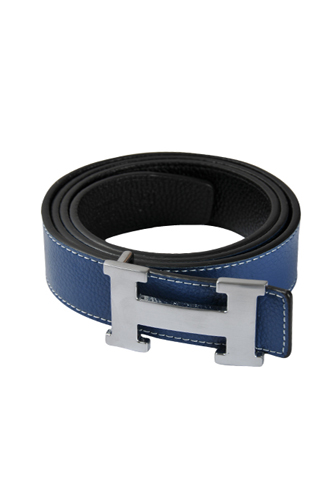 Mens Designer Clothes | HERMES Men's Leather Reversible Belt #4