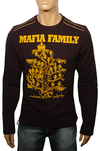 Mens Designer Clothes | Madre Men's Long Sleeve Shirt #31