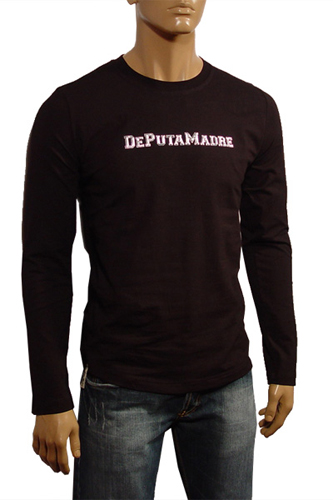Mens Designer Clothes | Madre Men's Long Sleeve Shirt #  53
