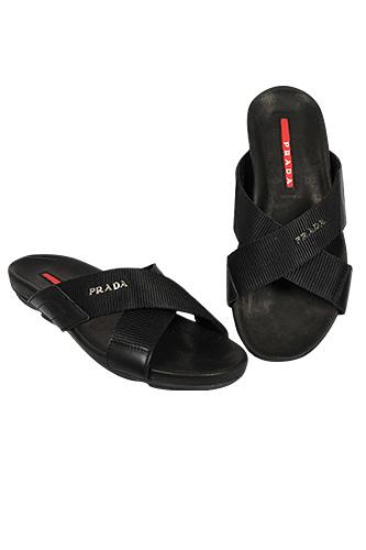 Designer Clothes Shoes Prada Men S Leather Sandals 265