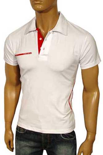 Wide Neck T Shirt Men