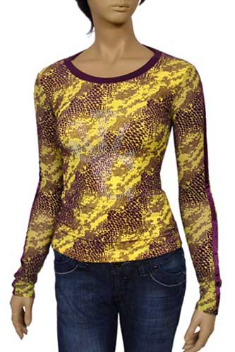 Womens Designer Clothes | TodayFashion Ladies Long Sleeve Top #122