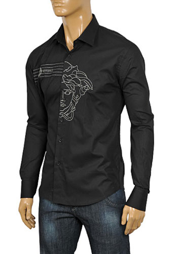 Mens Designer Clothes | VERSACE Men's Dress Shirt #150