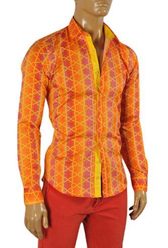 Orange Colored Men's Dress Shirts