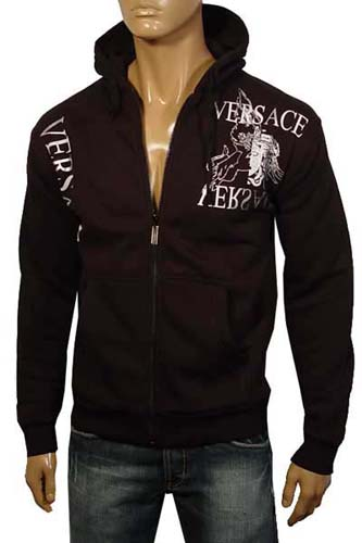 Mens Designer Clothes | VERSACE Cotton Hooded Jacket #12