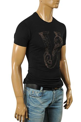 Mens Designer Clothes | VERSACE Men's Short Sleeve Tee #075