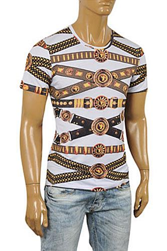 Mens Designer Clothes | VERSACE Men's Short Sleeve Tee #77