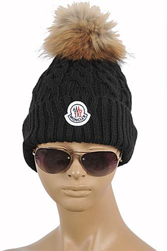 MONCLER Women s Knitted Wool Hat  138 f3cb087ddbc8