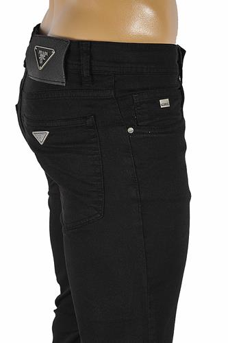 PRADA Classic Slim Fit Men's Jeans in Black 28