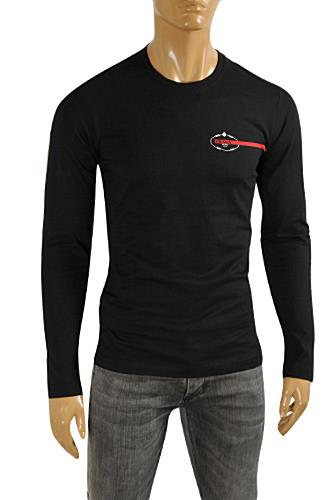 PRADA Men's Long Sleeve Fitted Shirt #86