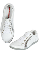 PRADA Men's Leather Sneaker Shoes #240