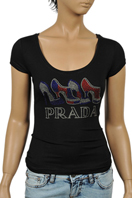 PRADA Ladies Short Sleeve Top #83