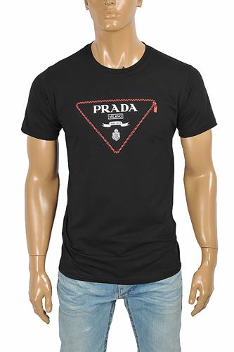 PRADA Men's t-shirt with front logo print 116