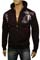 Mens Designer Clothes | VERSACE Cotton Hooded Jacket #12 View 1