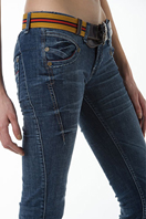 TodayFashion Ladies Jeans With Belt #87