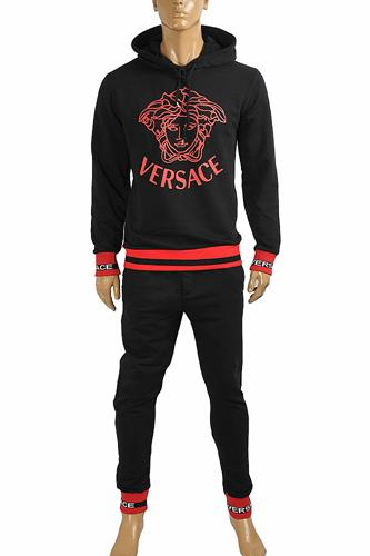 VERSACE men's hooded tracksuit, jogging set 28