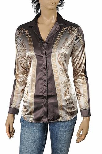 VERSACE Ladies Dress Shirt/Blouse 182