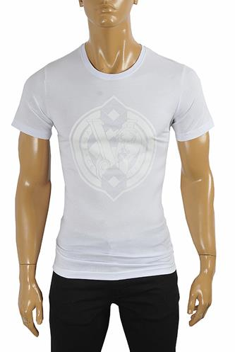 VERSACE Men's Cotton T-shirt with print #110