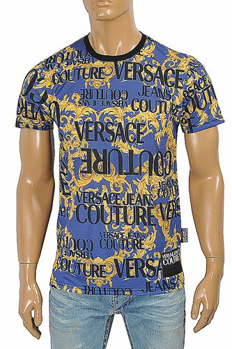 VERSACE men's t-shirt with logo print 119