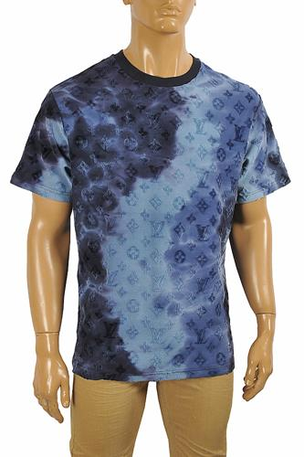 LOUIS VUITTON men's monogram embroidery t-shirt 5
